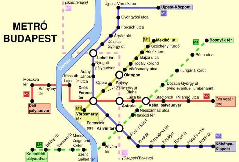 budapest_metro_map_open Planning a Football Trip to Budapest