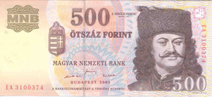 Below Is A List Of The Various Hungarian Notes Most Common Note 1000 Huf Which Equivalent To About 3 30 Or 4 50 Euros